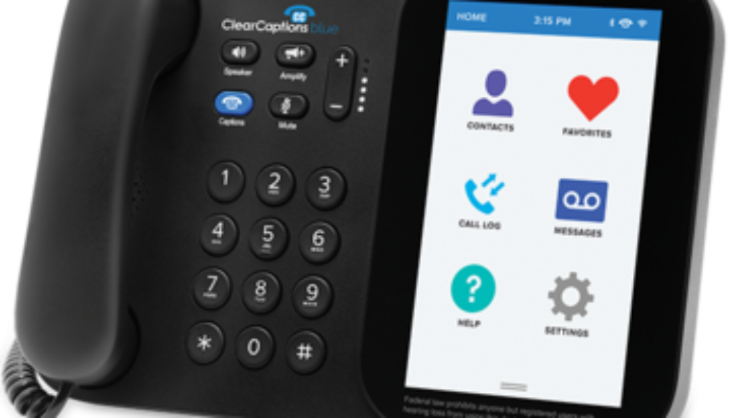 ClearCaptions® Unveils Blue, New Innovative Caption Phone Blending Modern Tech and Accessibility