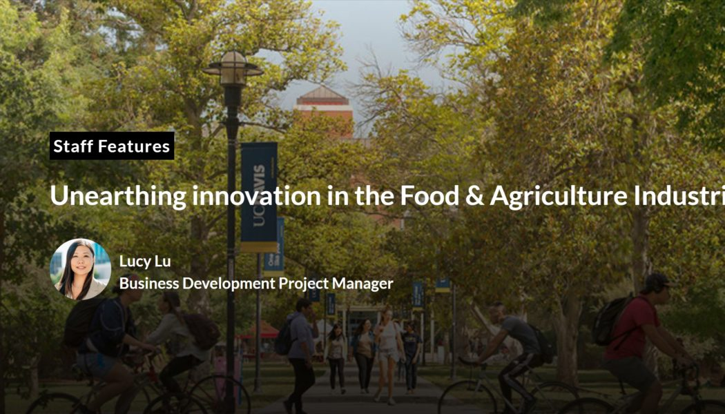 Unearthing Innovation in the Food & Agriculture Industries