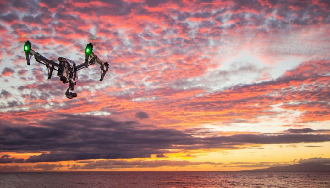 How drones assist in salvage operations